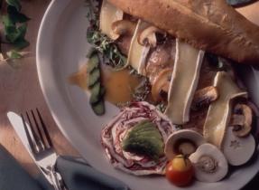 Steak Sandwich with Brie