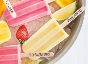 Tasty Fruit Ice Pops