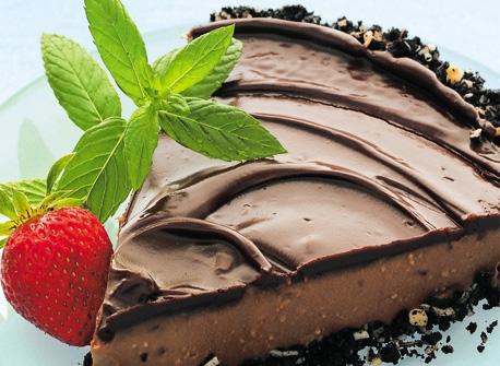 Chocolate Nanaimo Bar Pie Recipe