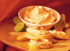 Flavoured Butter and Smoked Trout Spread