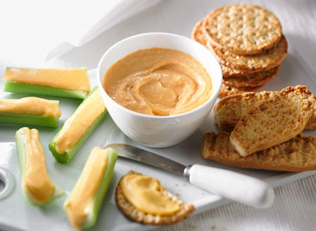 "Homemade ""Orange"" Cheese Spread Recipe"