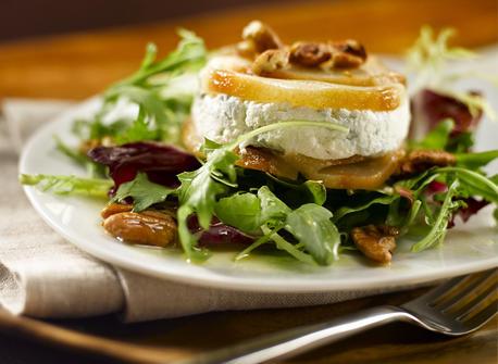 Roasted Pear & Canadian Cheese Torta Salad Recipe