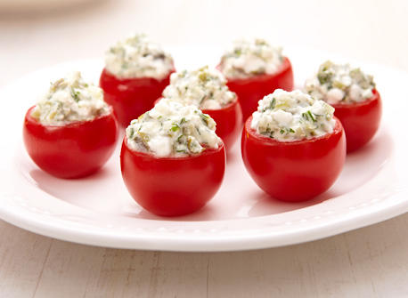 Cottage Cheese stuffed tomatoes Recipe