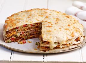 Mozzarella Tortilla Stack