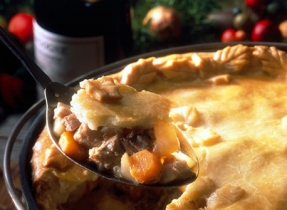 Lake Memphremagog Holiday Meat Pie