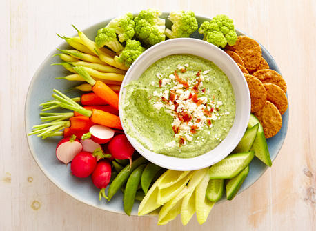 Feta, herb & bacon dip Recipe