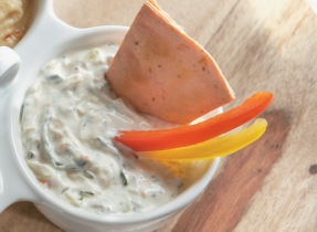 Leek Dip with Herbs