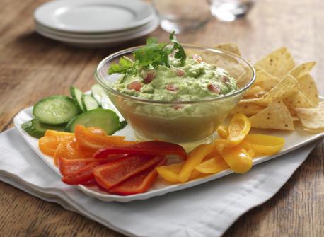 Smooth Guacamole Dip  Recipe