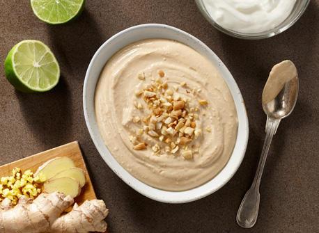 Thai Peanut and Yogurt Dip Recipe