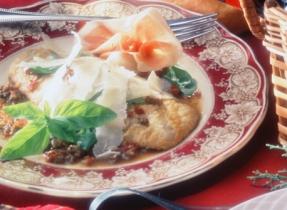 Veal Scaloppini Parmigiana (Scaloppine al Parmigiano)