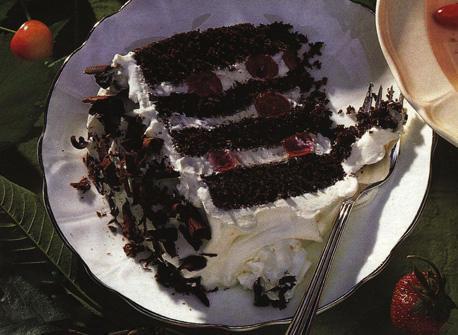 real black forest cake recipe dairy goodness. Black Bedroom Furniture Sets. Home Design Ideas